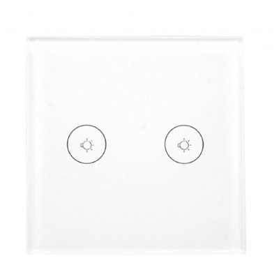 2 Ways Touch Control European Smart Switch