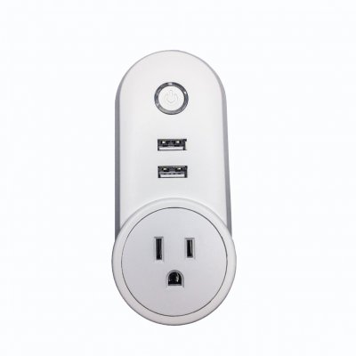 Wifi Smart Socket with USB Outlet - US Plug
