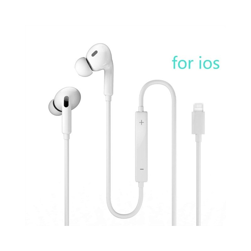 Wired Earphones With Microphone 3.5mm Headphones Wired In-ear Earbuds Gaming Headset