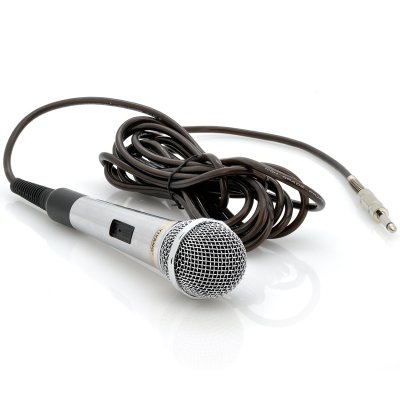 Wired Dynamic Microphone w/ 5 Meter Cable