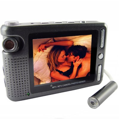 Wired Pinhole Videocamera with DVR