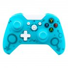 Wireless 2 4GHz Game Controller for Xbox One for PS3 PC Games Joystick Gamepad with Dual Motor Vibration blue