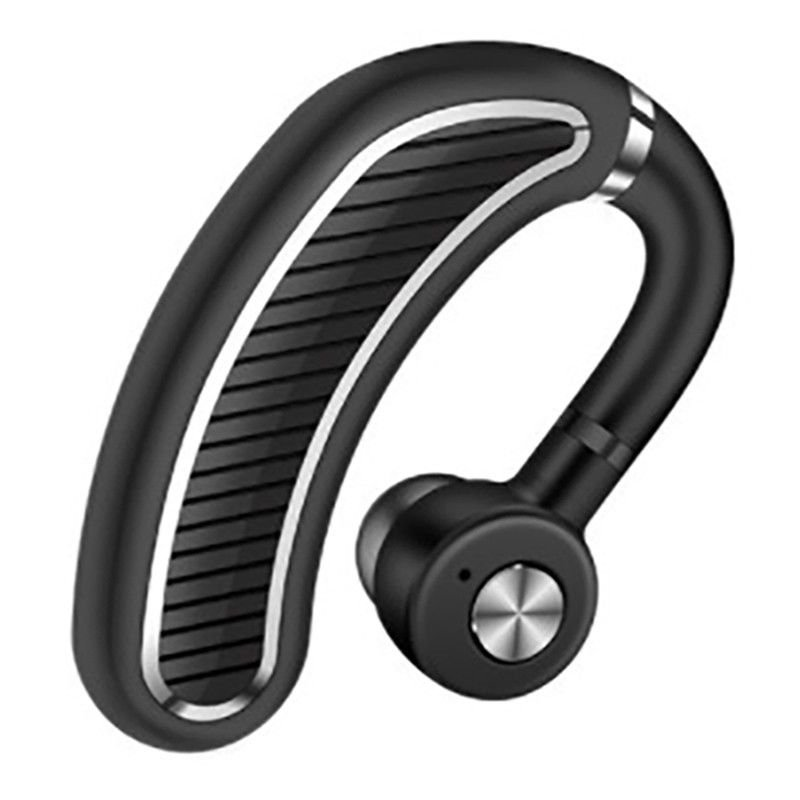 Wireless Bluetooth Headset Sports Earphone for iPhone Samsung Black silver