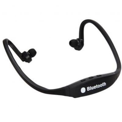 Wireless Headset for iPhone Samsung (Black)