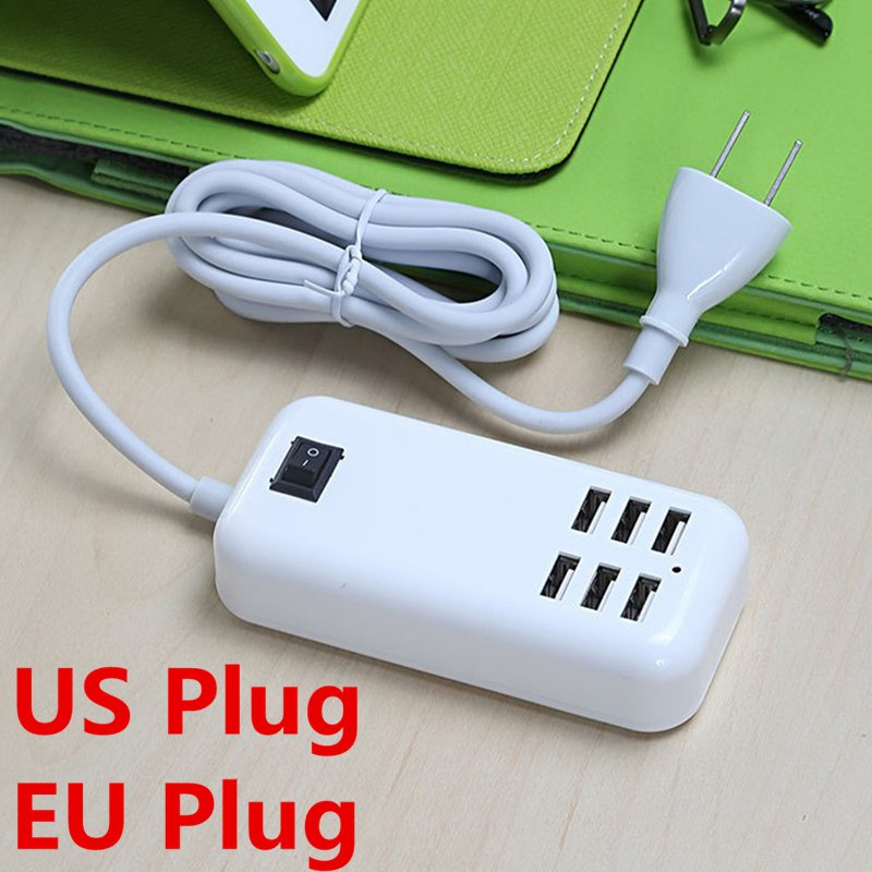 4 Outlet Power Travel USB Charging Dock