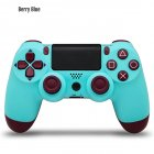 Wireless Controller Bluetooth 4.0 Dual Shock Joystick Gamepads for PlayStation 4 light blue