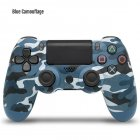 Wireless Controller Bluetooth 4.0 Dual Shock Joystick Gamepads for PlayStation 4 Blue camouflage