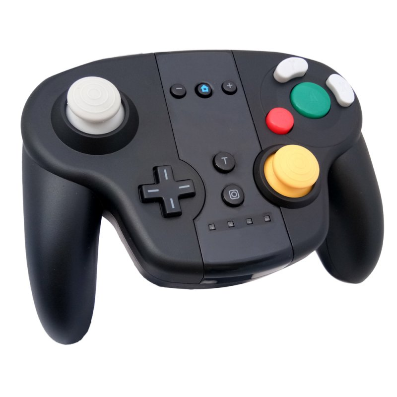 Wireless Game Pro Controller Console Joystick for Switch 380mAh Battery Wireless Connection Gamepad black