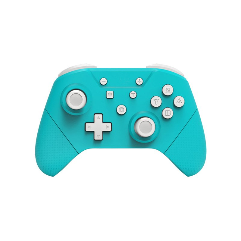 Wireless Gamepad For Nintend Switch Pro Controller have NFC Turbo 6-Axis Doublemotor 3D Game Joysticks blue