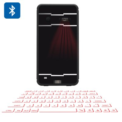 Wireless Laser Projection Keyboard With Mouse