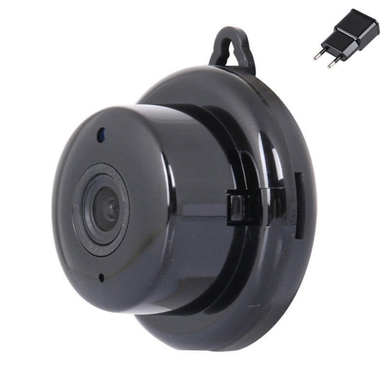 Wireless Mini WIFI IP Camera HD 1080P Home Security Camera with Night Vision  EU plug