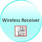 Wireless Receiver for CVSB K122 Wireless Optical Mouse with 4D Trackball
