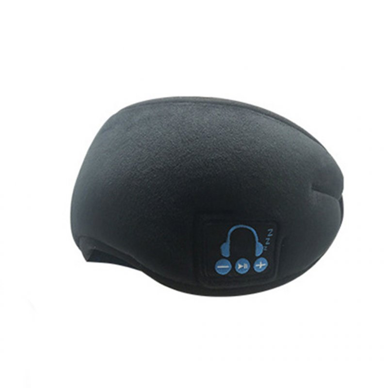 Wireless Stereo Speaker Microphone Headphone Sleep Eyewear Wireless Music Headset Bluetooth Music Glasses black