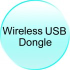 Wireless USB Dongle for CVUJ K130 2 4G Wireless Mini Keyboard with Touchpad