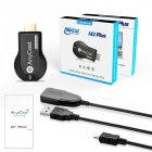 Wireless WiFi Display TV Dongle Receiver for AnyCast M2 Plus for Airplay 1080P HDMI TV Stick for DLNA Miracast Blue boxed