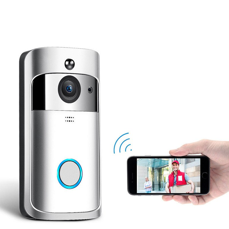 Wireless WiFi DoorBell - Silver