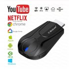 Wireless Wifi Display Receiver Airplay HDMI Dongle TV Stick Miracast Adapter for Chromecast Mirror Box for ios Android black