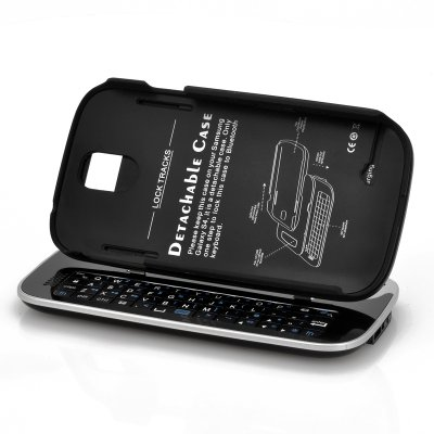 Wireless Slideout Keyboard for Samsung S4 (B)