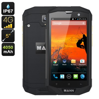 MANN ZUG 5S+ Rugged Phone (Silver)