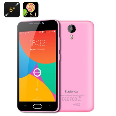 Blackview BV2000 4G Smartphone (Pink)