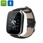 3D Screen Bluetooth Smart Watch (Black)
