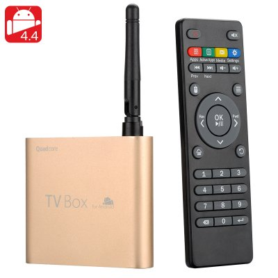 Mini Quad Core Android TV Box