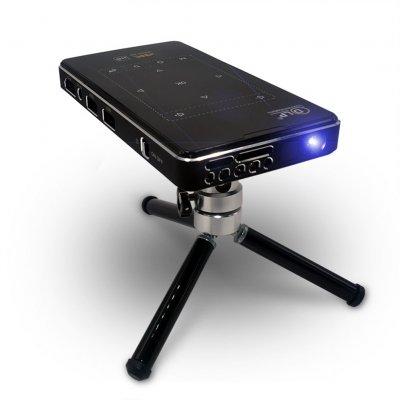 Imk95 Dlp 4k Hd Mini Projector Portable Video Home Projector 1g 8g