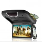 With its low price and abundant features  this 9 inch roof mounted DVD is the best substitute for a in dash Car DVD player