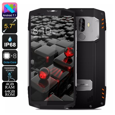 Rugged Phone Blackview BV9000 (Silver)