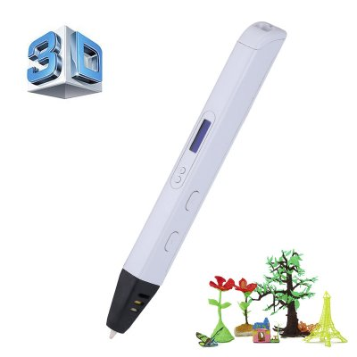 Professional Printing 3D Pen (White)
