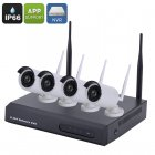 4 Channel Wireless NVR Kit