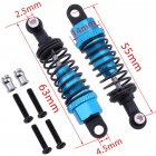 Wltoys 1/18 A949 A959 A969 A979 Metal Upgrade Front Shock Absorber 2Pcs RC Car Parts sky blue