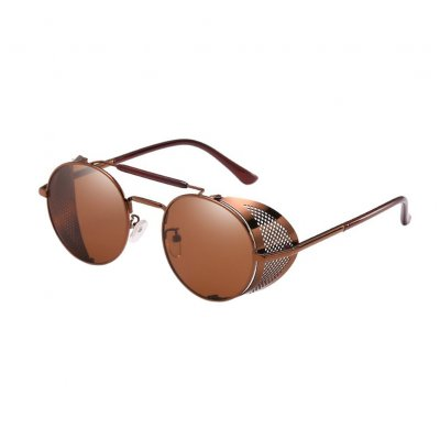 Woman Steampunk Sunglasses Retro Colorful Film Reflective Frog Street Fashion Sunglasses 57 3 662476pti