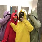 Teletubby Design Loose Pullover Hoodie
