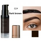 Women Eyebrow Dye Gel Waterproof Peel Off Eye Brow Wax Long Lasting Tint Shade Make Up Cosmetic 02