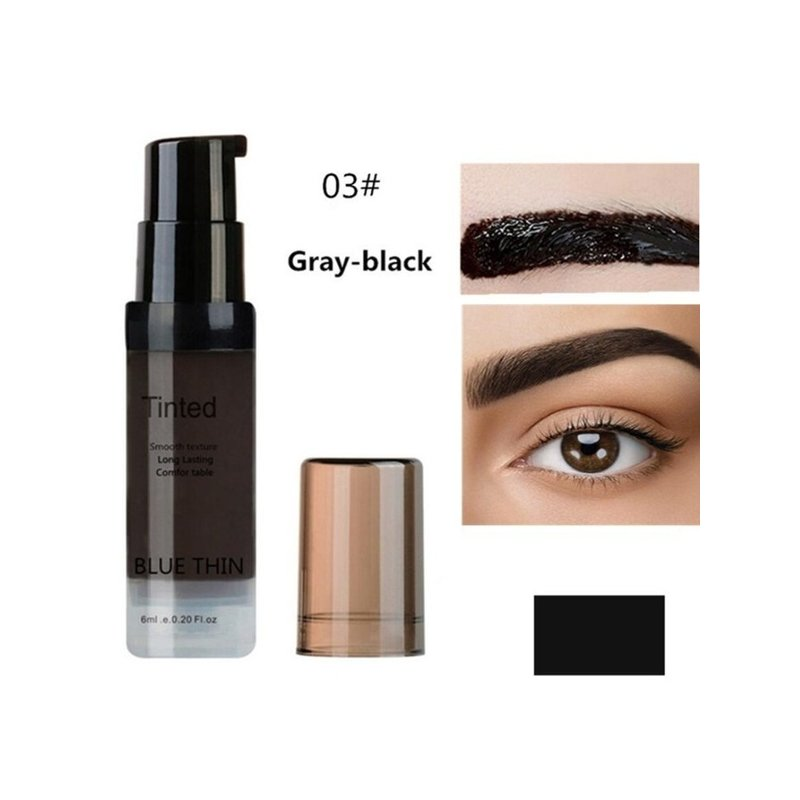 Women Eyebrow Dye Gel Waterproof Peel Off Eye Brow Wax Long Lasting Tint Shade Make Up Cosmetic 03