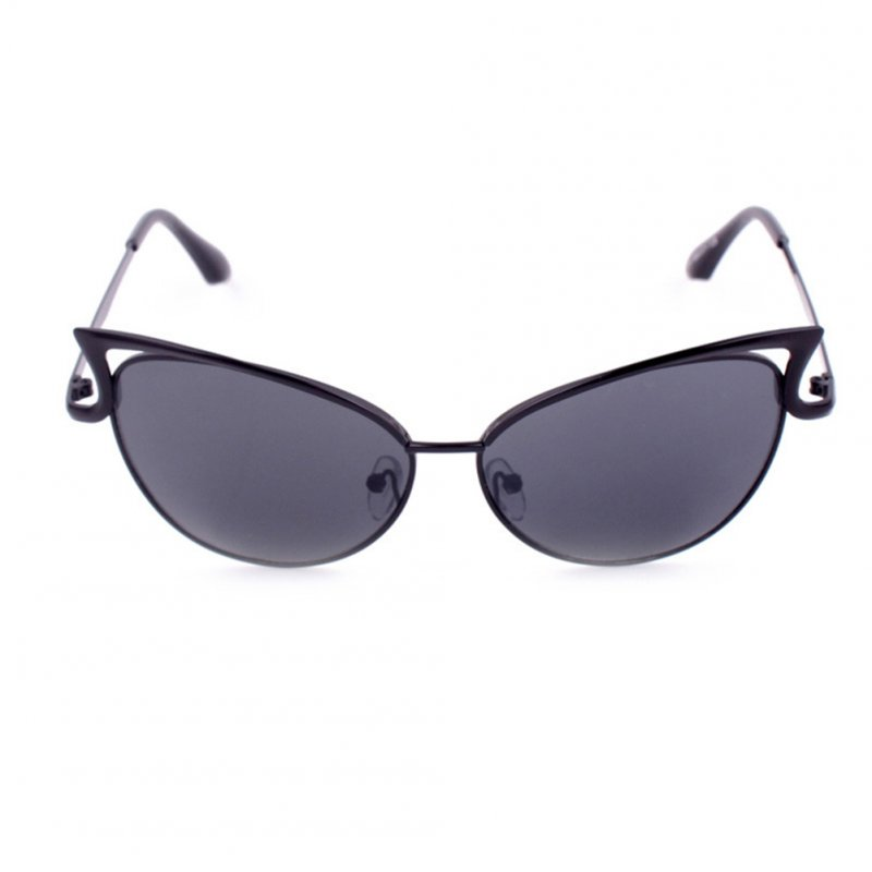 Women Fashion Cat Eye Design Hollow Out Sunglasses