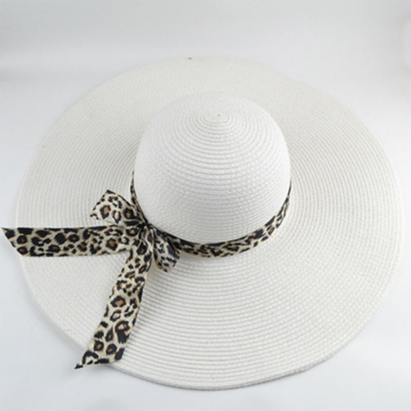Women Fashion Sun-shade Large Brim Folded Beach Hat