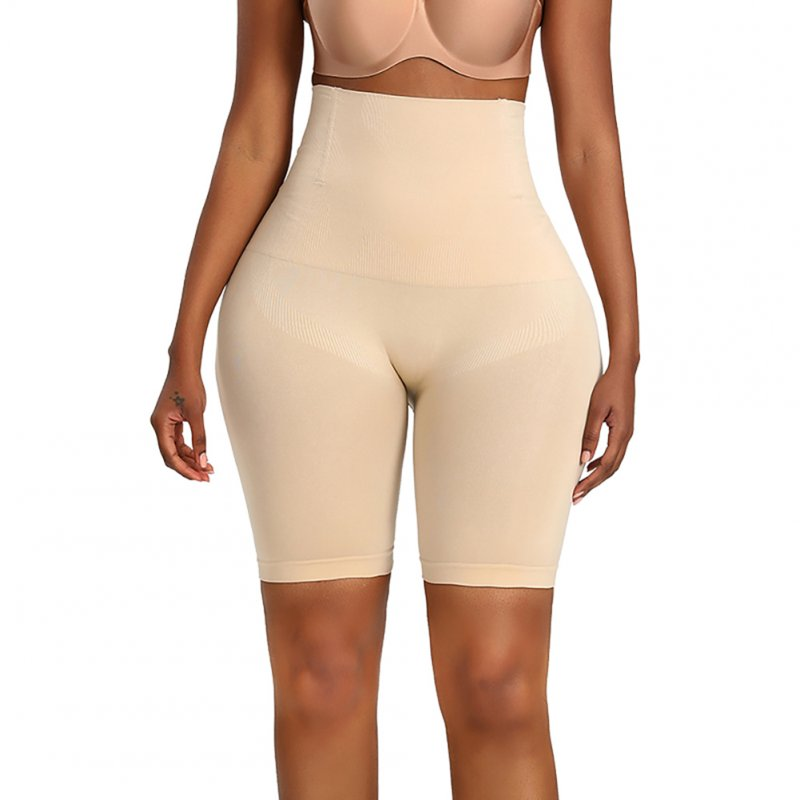 Women High Waist Body Shaper Underwear Hip-lifting Beauty Shapewear Underpants Skin color_XL/XXL