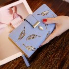 Women Hollow Out Long Clutch Purse