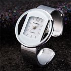 Women Ladies Luxury Bracelet Watch Quartz Movement Pointed Stainless Steel Strap Wristwatch 1#