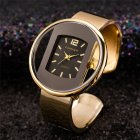 Women Ladies Luxury Bracelet Watch Quartz Movement Pointed Stainless Steel Strap Wristwatch 4#