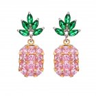 Women Lovely Cartoon Pineapple Shape Earring/Necklace Elegant Fashion Jewelry