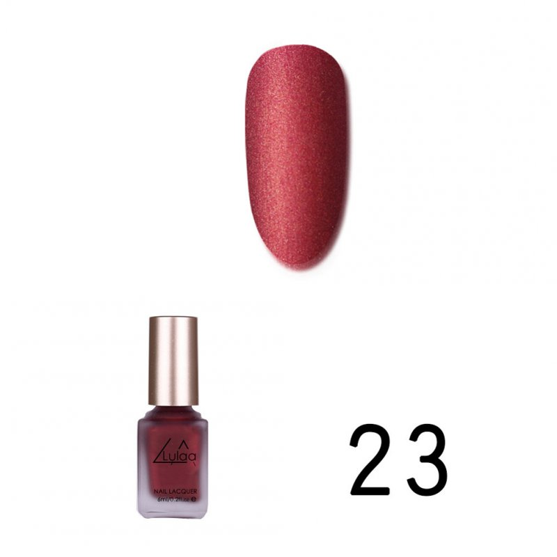 Women Matte Nail Polish DIY Art Long Lasting Satin Manicure Non-toxic Fashion Makeup 23_Normal specifications