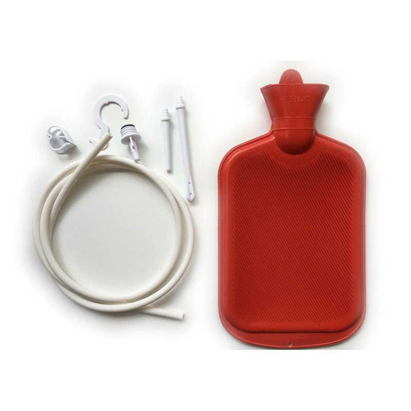 Enema Kit with Rubber Hot Water Bag
