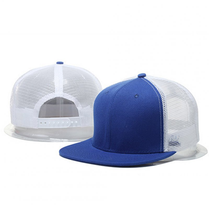 Women Men Fashion Simple Mesh Splicing Adjustable Baseball Cap  6_adjustable