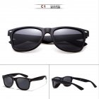 Women Men Square Outdoor Classical Polarized UV400 Sun Glasses