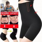 Women Underwear Fitness Abdomen Control Seamless Sexy Breathable Bodybuilding Shapewear Black XS / S