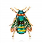 Women's Brooch Alloy Insect Series All-match Bee-shape Corsage