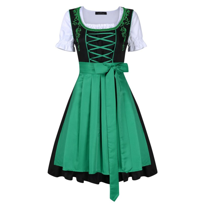 Women's Classic Dress Three Pieces Suit for German Traditional Oktoberfest Costumes